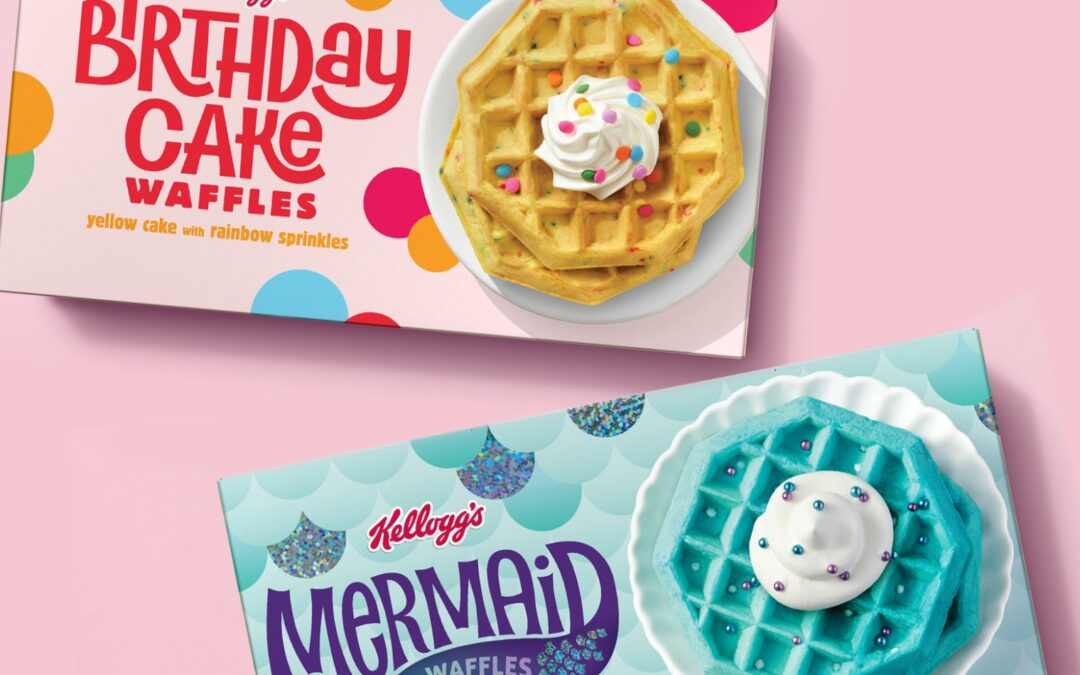 hot off the press! kellogg fantasy waffles