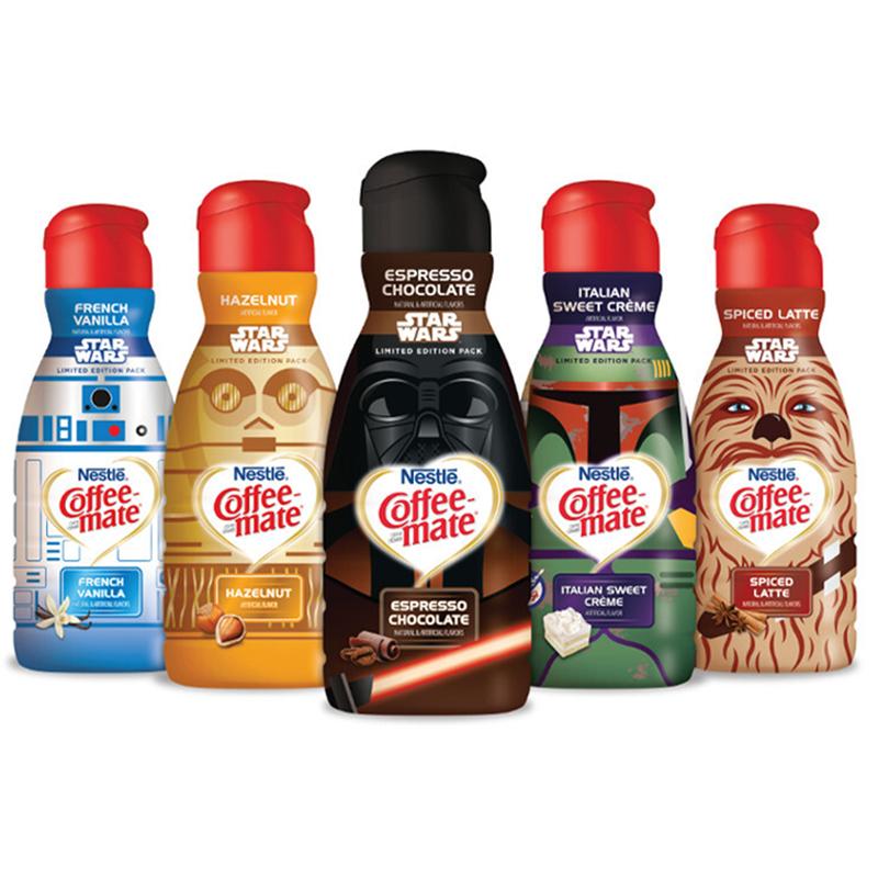 Coffee Mate Star Wars Creamers