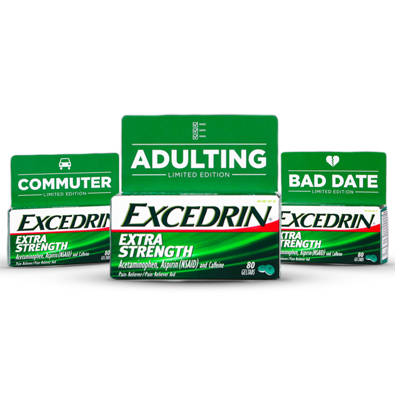 Excedrin Adulting Packs